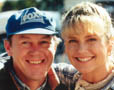 John Fox with Olivia Newton-John