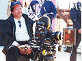 Sammo Hung on the set of Mr Nice Guy